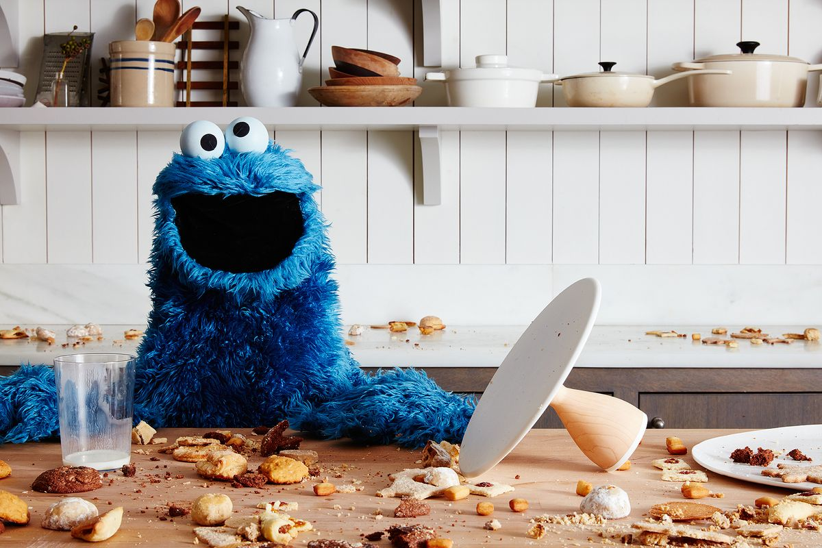 What Happened When Cookie Monster Came To The Food52 Office