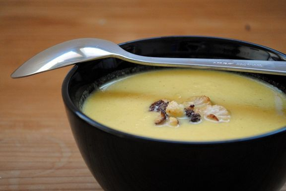 Curried Caulifower Soup