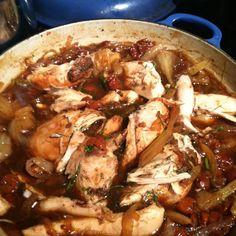 Brewed and Braised Cherry Chicken