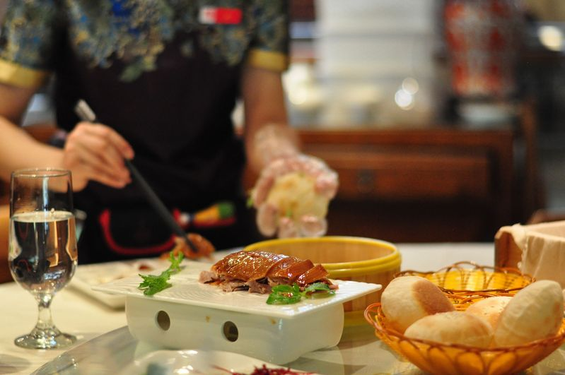 Sijiminfu's Peking duck represents a style of duck roasting that was invented 150 years ago.