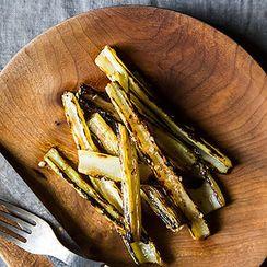 Dinner Tonight: Patty Melts + Grilled Swiss Chard Stems