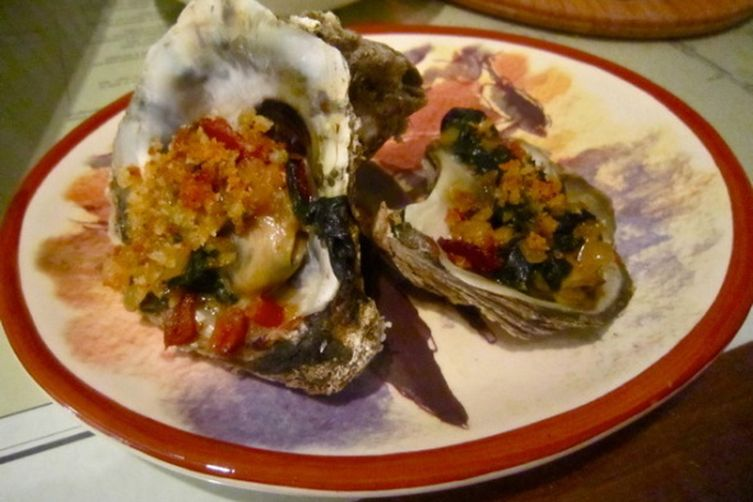 Cape Carteret Oysters Williams--AKA Rockefeller