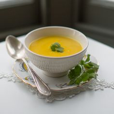 Cauliflower Coconut Soup