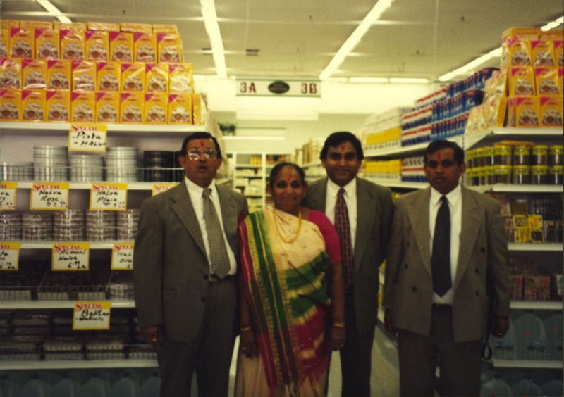 Inside the Chicago Patel Brothers.