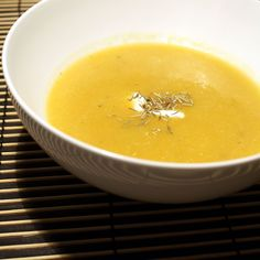 Butternut Squash Apple Soup
