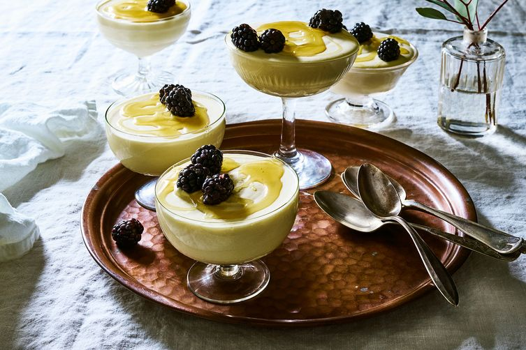 Frozen Honey Mousse