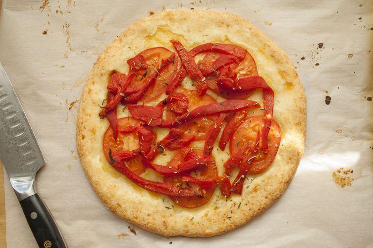Gluten Free Cheesy Pizza Crust (Pão de queijo)