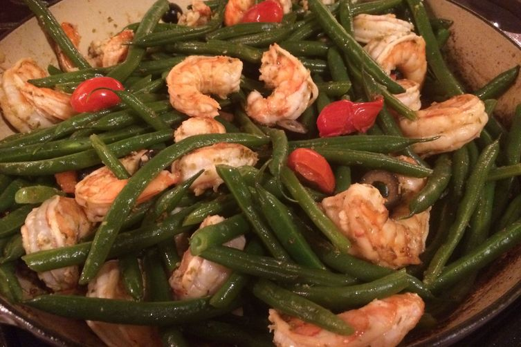 Green Bean and Shrimp Salad