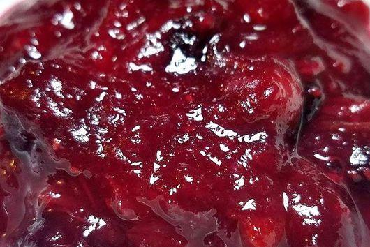 Caribbean Cranberry Sauce / Jam