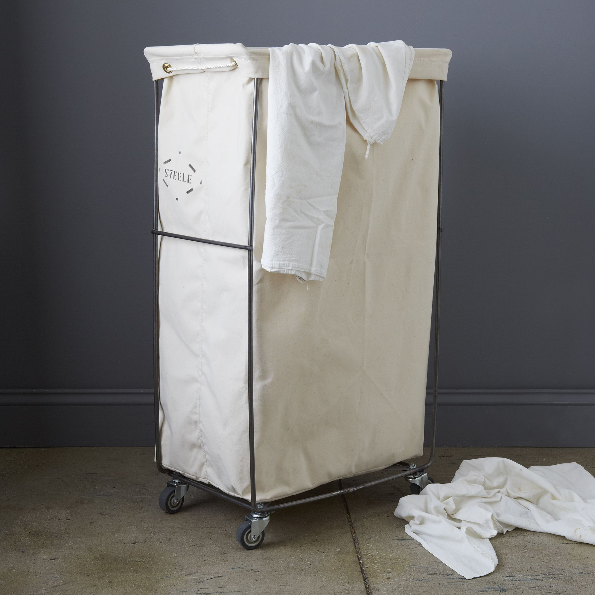 Narrow Elevated Laundry Basket on Food52