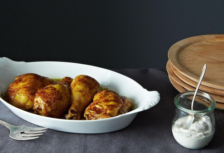 Dinner Tonight: Spiced Roast Chicken with Za'atar Yogurt