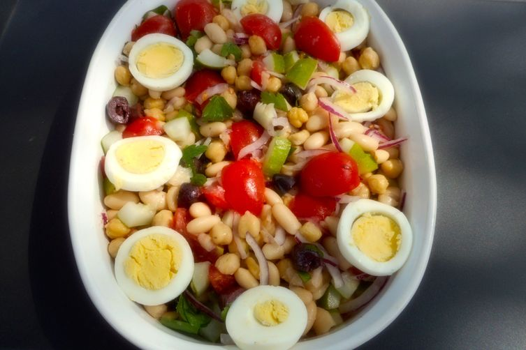 Turkish Bean Salad