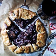Red Wine Portabella Galette