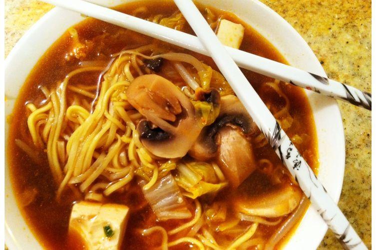 Katie's Spicy Korean Tofu Soup