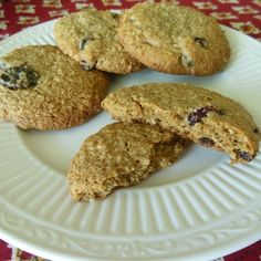 Chewy Oatmeal Berry Breakfast Cookies