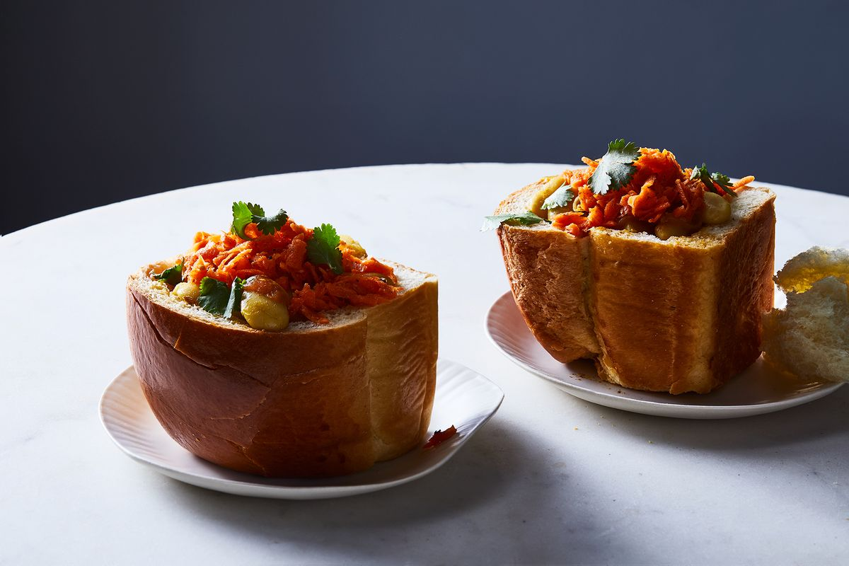 South African Bunny Chow: A Portable, Spicy Curry, All Snug in Bread