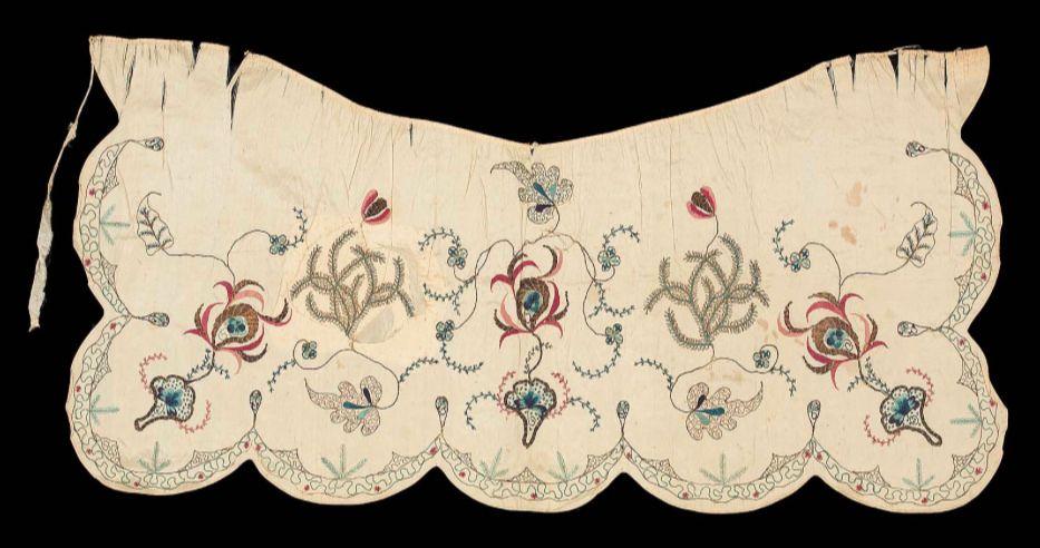 18th century new england apron