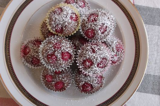 Browned Butter Chocolate-Raspberry Financiers