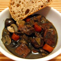 Portabello Beef Stew