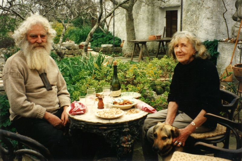 Norman Mommens and Patience Gray, February 1992.