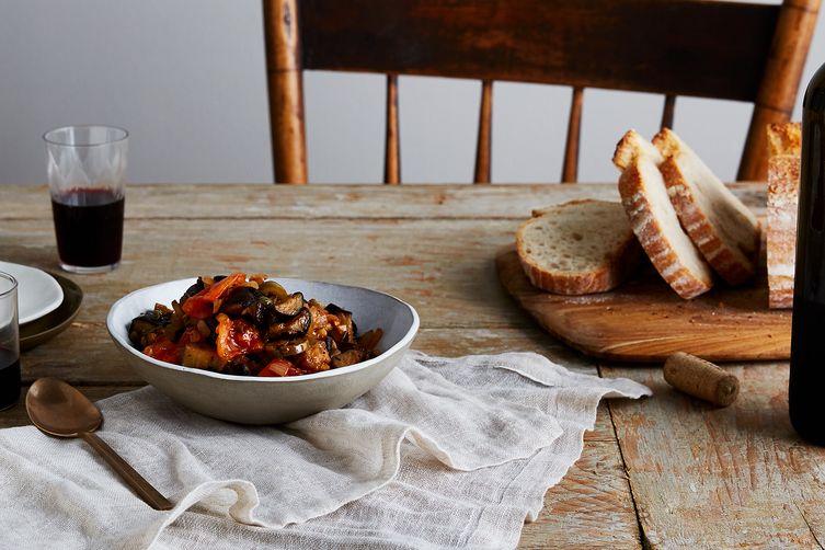 La Nonna's Sweet & Sour Eggplant Dip