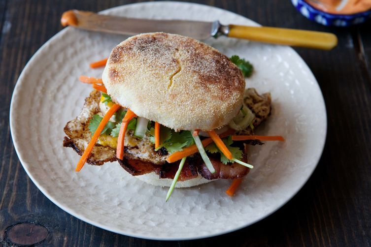 Banh Mi Breakfast Sandwich Recipe