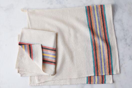 Organic Cotton Turkish Hand Towels (Set of 2)