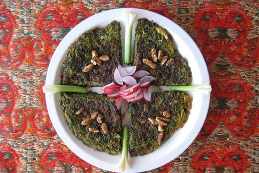 Kookoo Sabzi - Fresh Herb Kookoo