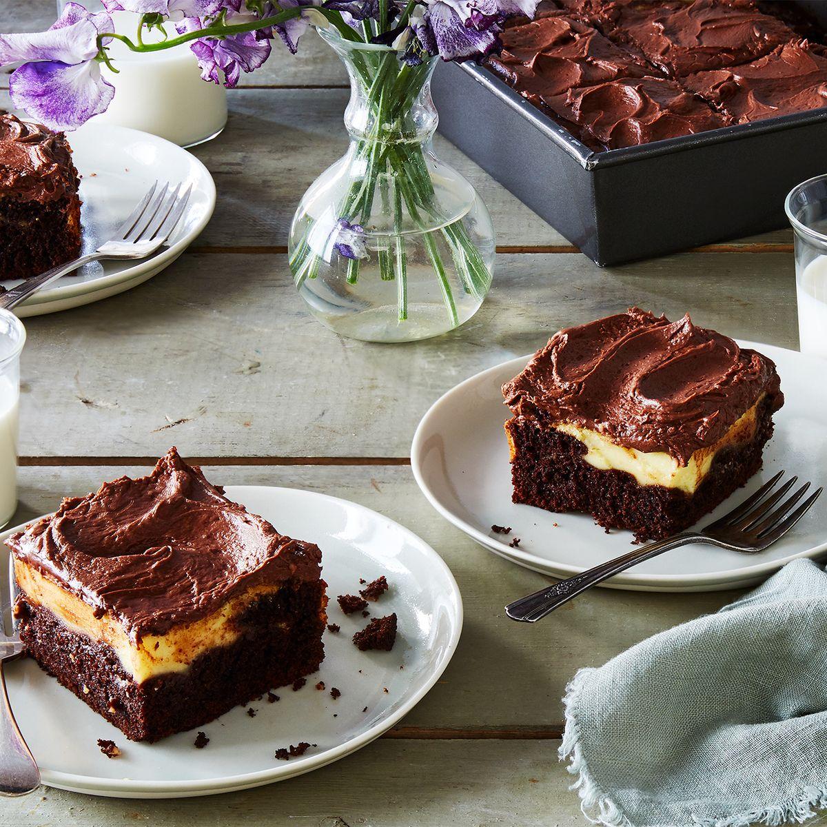 The Fudgy Swirly Chocolate Cream Cheese Cake My Mom Has Loved Since 1965
