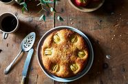 Hasselback Apple Cake