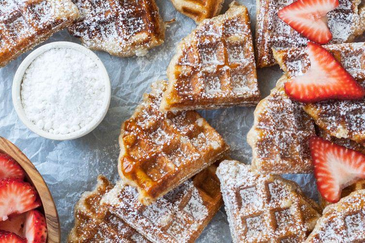 Liege Waffles (Belgian Sugar Waffles)