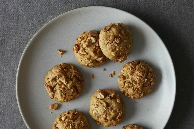 Peanut Butter Toffeee Cookies Recipe