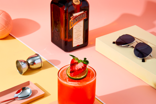 The Roasted Strawberry Margarita From Cointreau