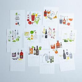 2015 Cocktail Recipe Calendar