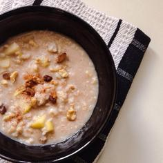 Apple Cinnamon Rice Porridge