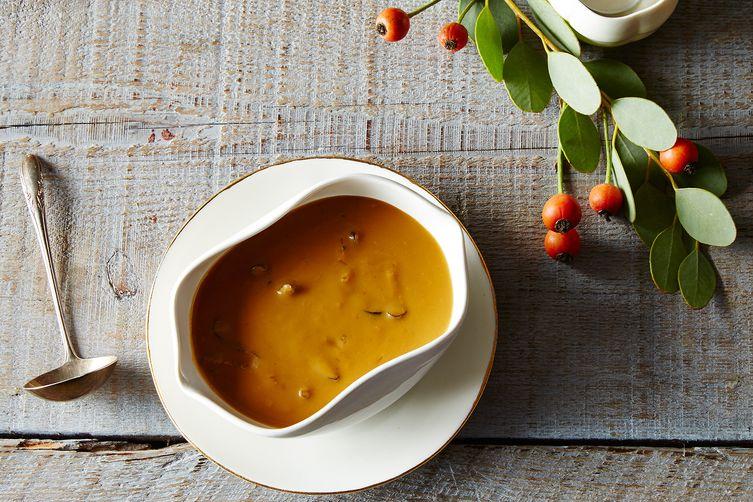 Vegetarian Mushroom Thyme Gravy Recipe on Food52