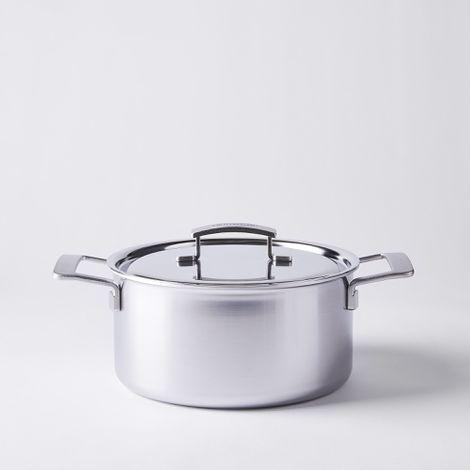 Demeyere Stainless Steel Dutch Oven, 5.50 QT