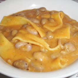 Croatian Bean Soup / Stew (Fažol i testo)