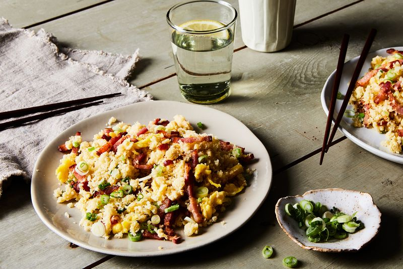 A Healthy-ish Bacon & Egg Fried Rice for Friday Nights