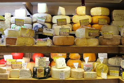 Cheese on the rue des Martyrs