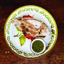 Grilled Salt-Crusted Fish with Chile Dipping Sauce