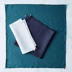 Furoshiki-Inspired Linen Gift Wrap (Set of 3)