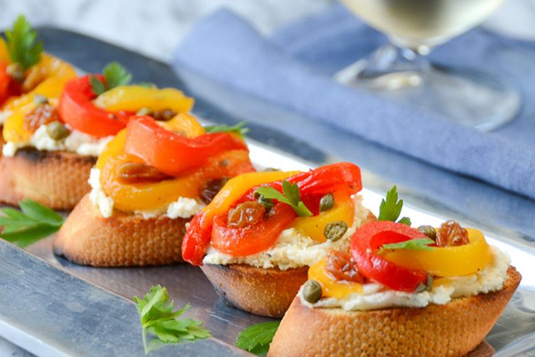 pepperonata bruschetta