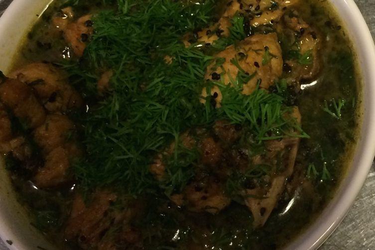 Dill Chicken Stew