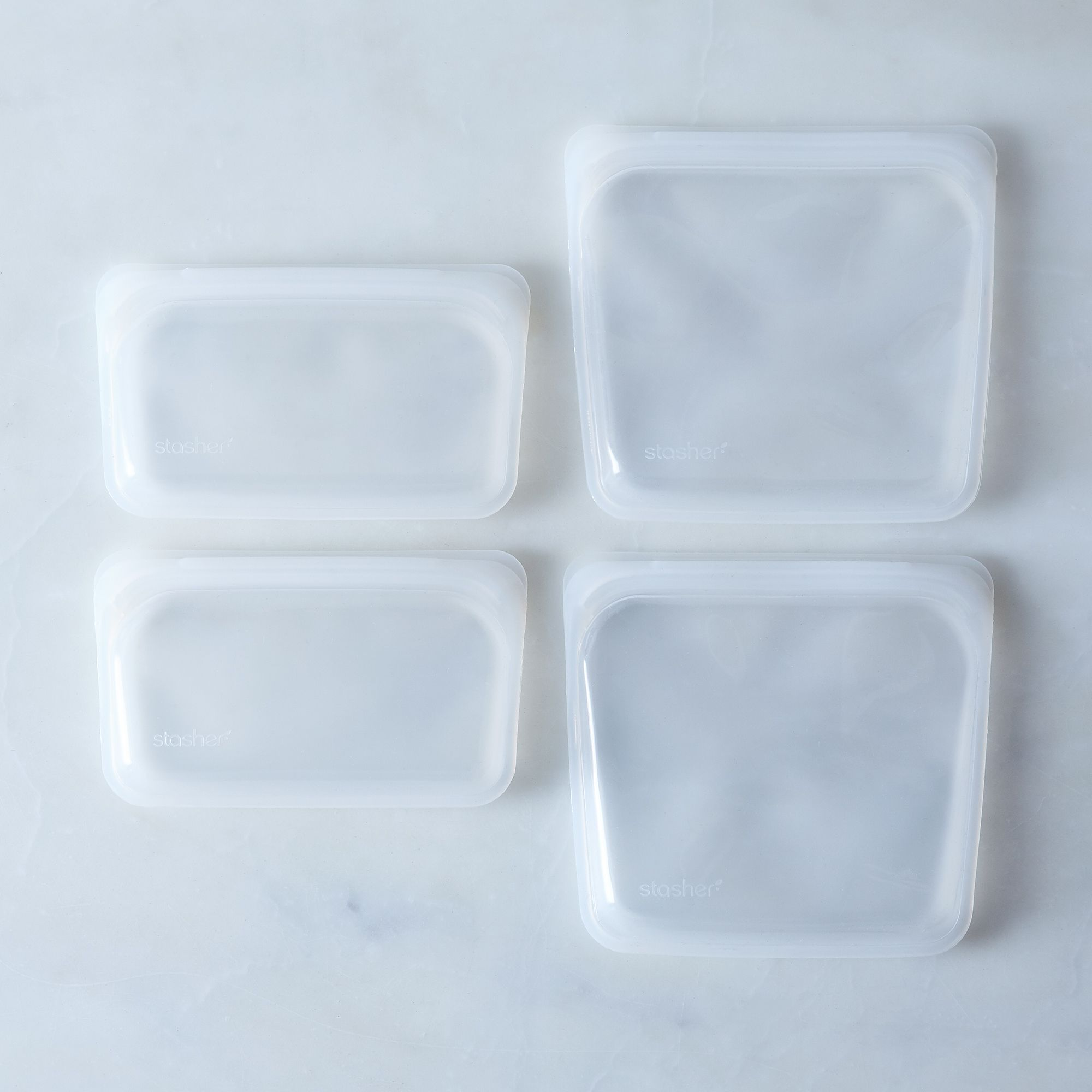 C021f726 1f3e 483c 8507 5737766839a2  2017 0404 stasher reusable snack bags clear combo set of 4 detail silo rocky luten 0390