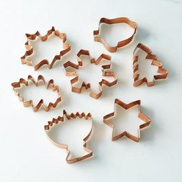 Seasonal Copper Cookie Cutters