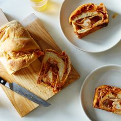 Pizza Swirl Bread