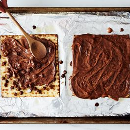 How to Make Chocolate-Covered Matzo at Home