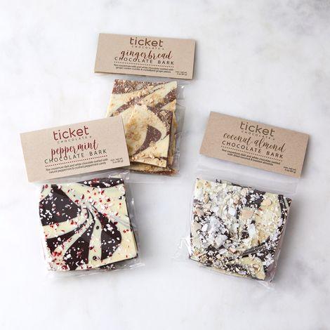 Chocolate Bark Variety Gift Box