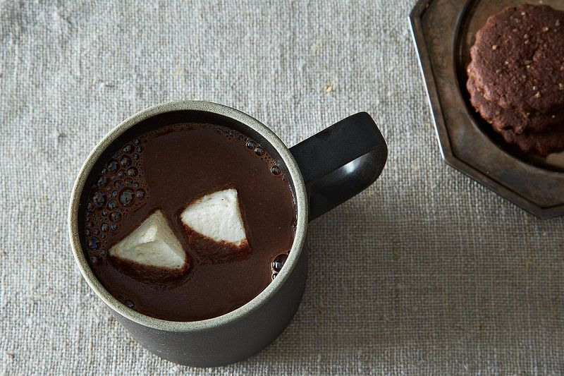 how to make hot chocolate with cocoa without sugar